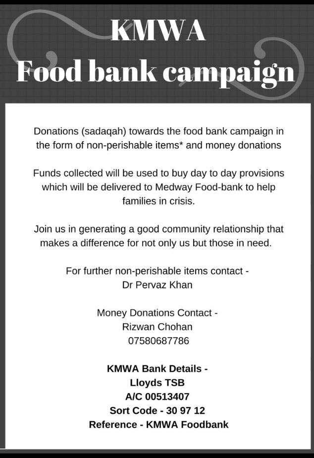 Kmwa Food Bank Campaign Kmwa